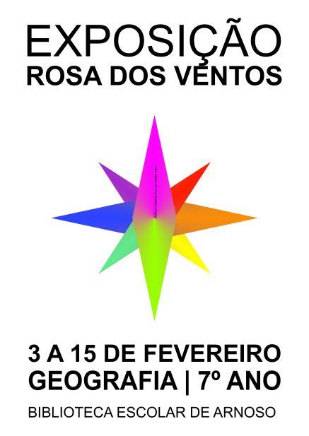 cartaz rosa dos ventos