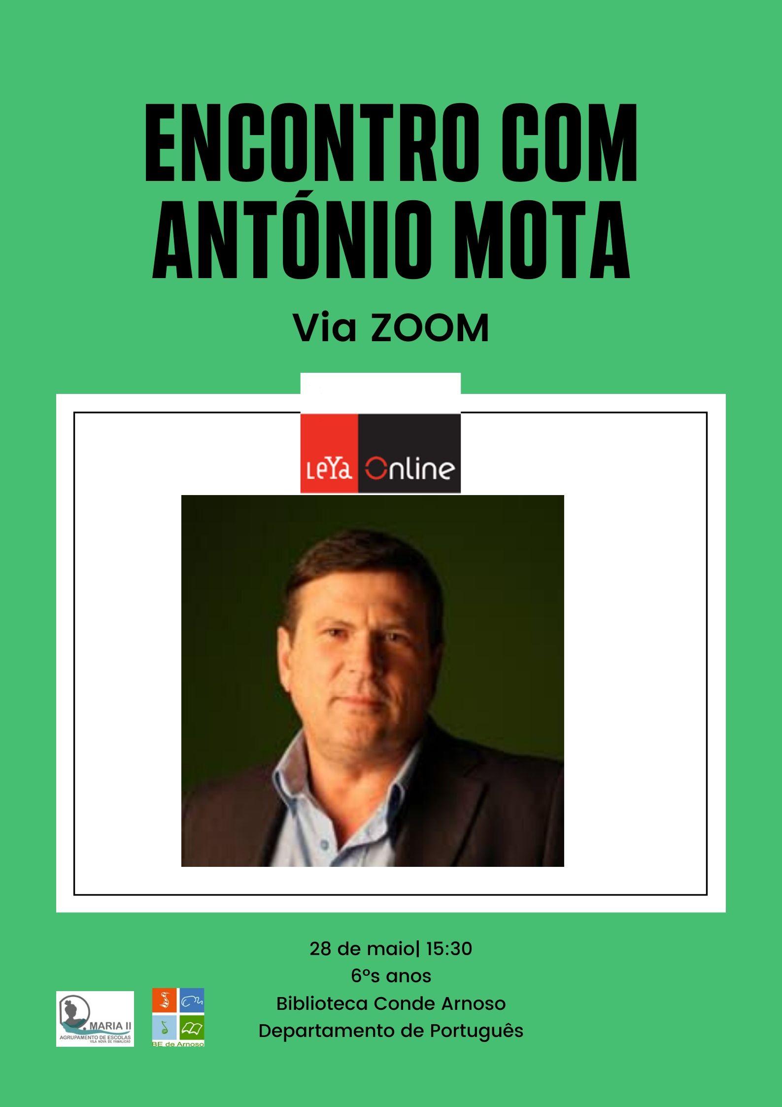 ENCONTRO COM ANTÓNIO MOTA
